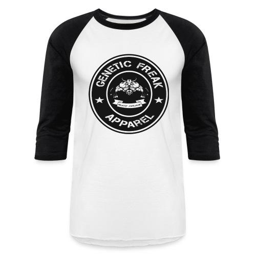 genetic_freak_logo_final - Baseball T-Shirt