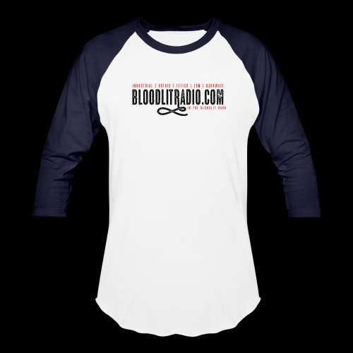 Bloodlit Radio 1 - Unisex Baseball T-Shirt