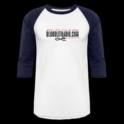 Bloodlit Radio 1 - Unisex Baseball T-Shirt