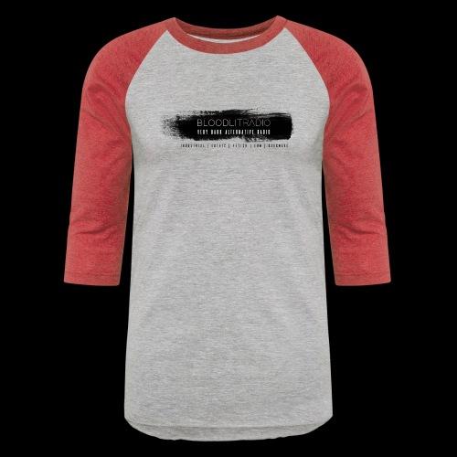 Bloodlit Radio 3 - Unisex Baseball T-Shirt