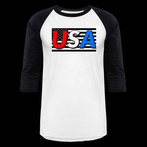 Merica - Unisex Baseball T-Shirt