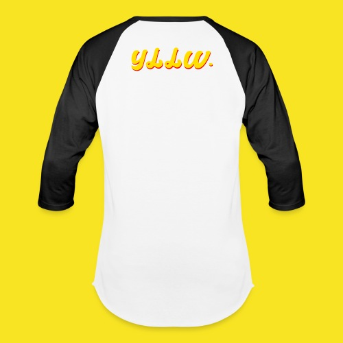 YLLW CLASSIC - Unisex Baseball T-Shirt