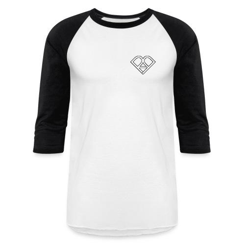 Riggi & Piros Heart - Unisex Baseball T-Shirt