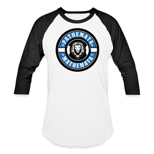 Pathemata Mathemata - Unisex Baseball T-Shirt