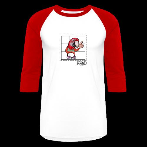 Bird Colour Graffiti - Baseball T-Shirt