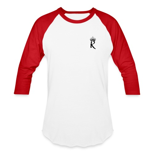 R with Crown - Baseball T-Shirt