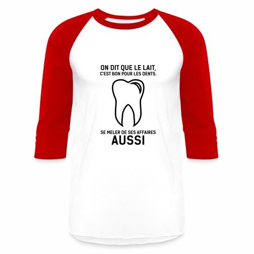 dent - Baseball T-Shirt
