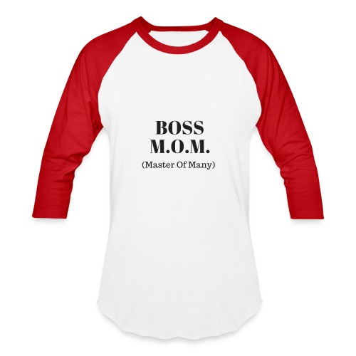 Boss MOM - Baseball T-Shirt