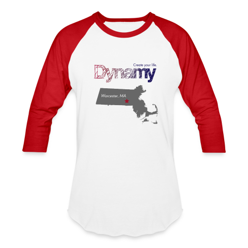 Worcester Map - Baseball T-Shirt