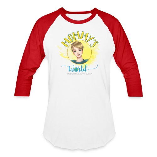 Mommys World Main Logo - Baseball T-Shirt