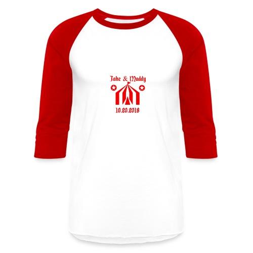 Zells Wedding Logo - Baseball T-Shirt