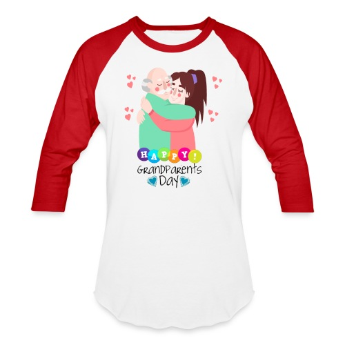 grandparents day gift T-Shirt ,National Grandparen - Baseball T-Shirt