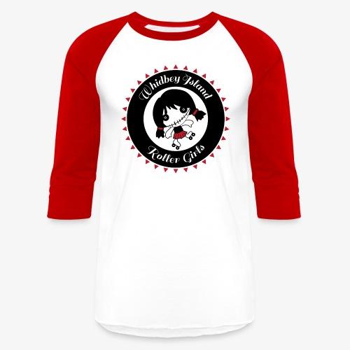 01 WIRG Color Logo - Baseball T-Shirt