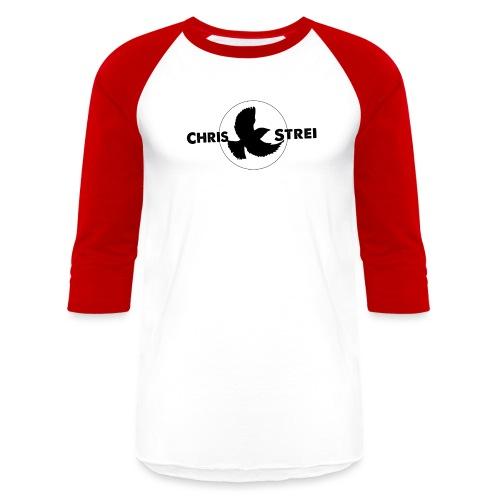 Chris Strei BlackBird Logo - Unisex Baseball T-Shirt