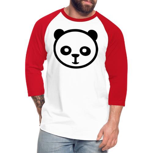 Panda bear, Big panda, Giant panda, Bamboo bear - Unisex Baseball T-Shirt