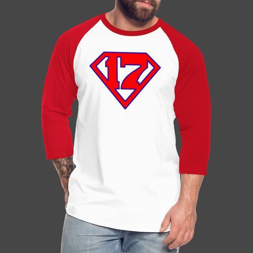 Super 17 - Unisex Baseball T-Shirt