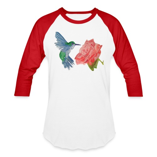 Hummingbird - Unisex Baseball T-Shirt