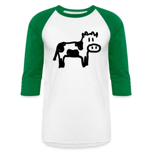 Cow - Unisex Baseball T-Shirt