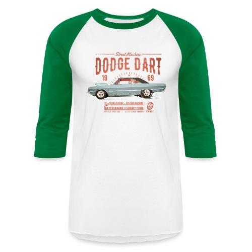 Dodge Dart Dragster Street Machine 1969 - Unisex Baseball T-Shirt