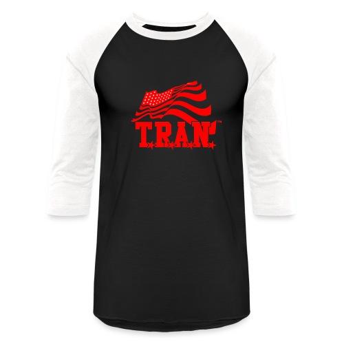 New Tran Logo Transparent RED png - Baseball T-Shirt