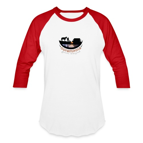 Ooraminna Station Homestead - Baseball T-Shirt