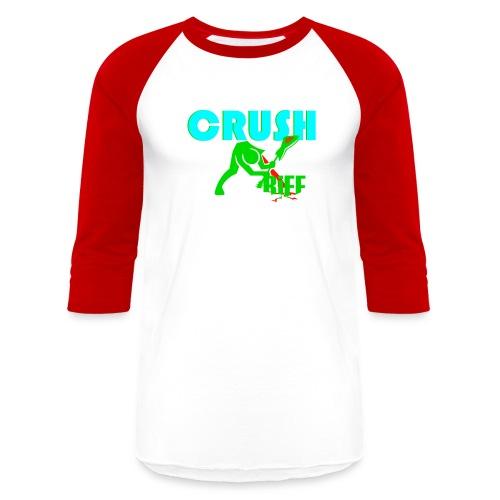 Original Crush Line - Unisex Baseball T-Shirt
