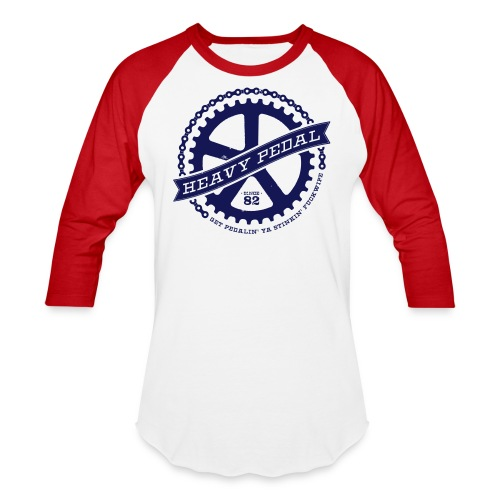 Heavy Pedal - Baseball T-Shirt