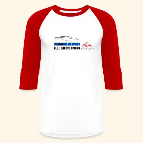 Blue Groove Racing SRL Black - Unisex Baseball T-Shirt