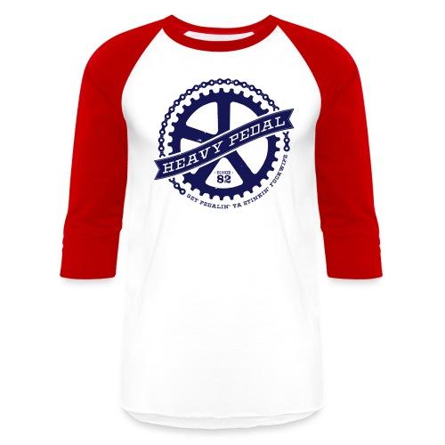 Heavy Pedal - Unisex Baseball T-Shirt