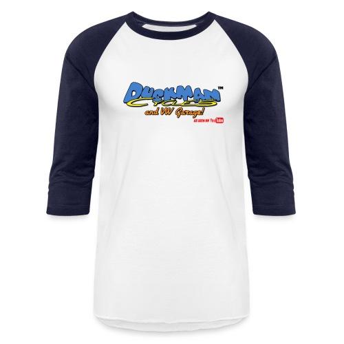 DuckmanCycles and VWGarage - Baseball T-Shirt