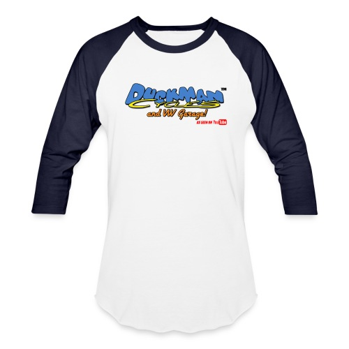 DuckmanCycles and VWGarage - Unisex Baseball T-Shirt