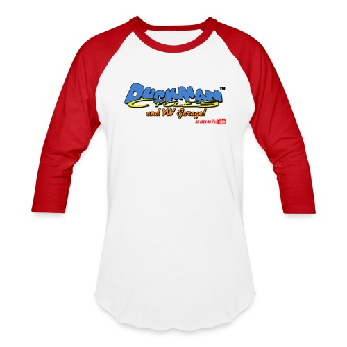 DuckmanCycles and VWGarage - Baseball T-Shirt