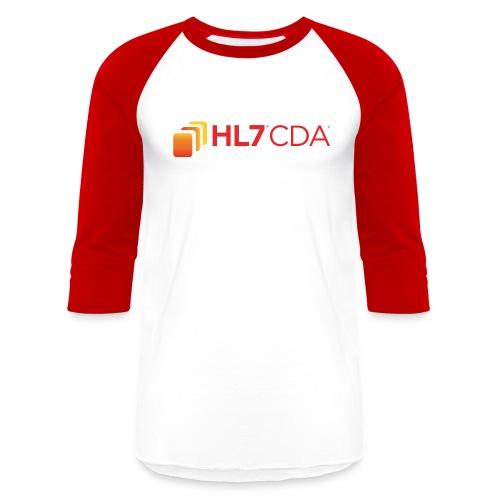 HL7 CDA Logo - Unisex Baseball T-Shirt
