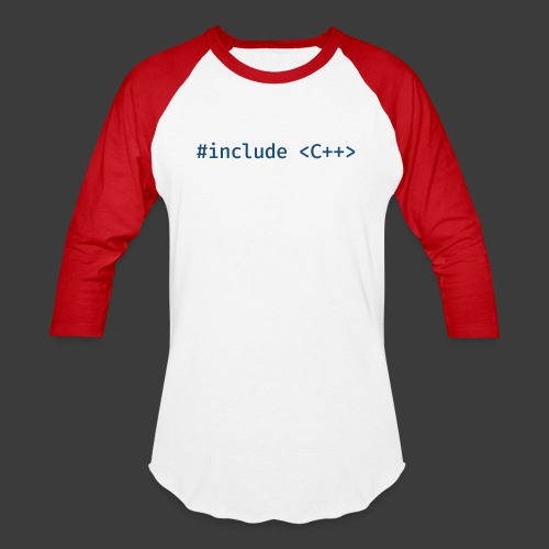 Blue Include Logo - Baseball T-Shirt