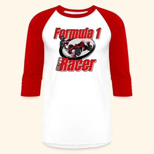 Formula 1 Sim Racer - Unisex Baseball T-Shirt