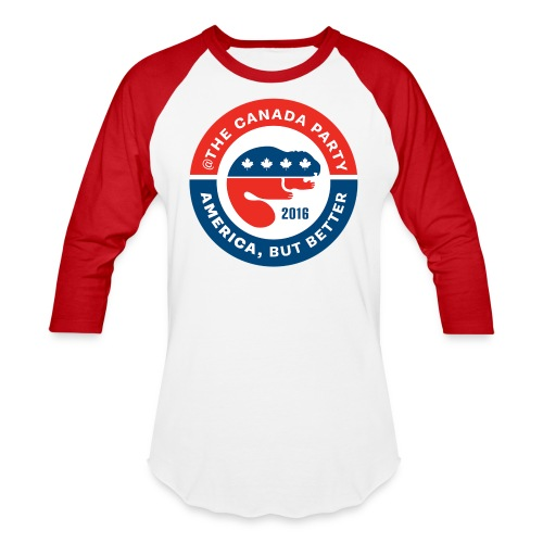 The Canada Party official campaign button - 2016 - Baseball T-Shirt