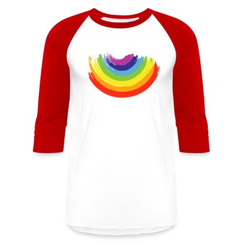 Rainbow Smile - Unisex Baseball T-Shirt
