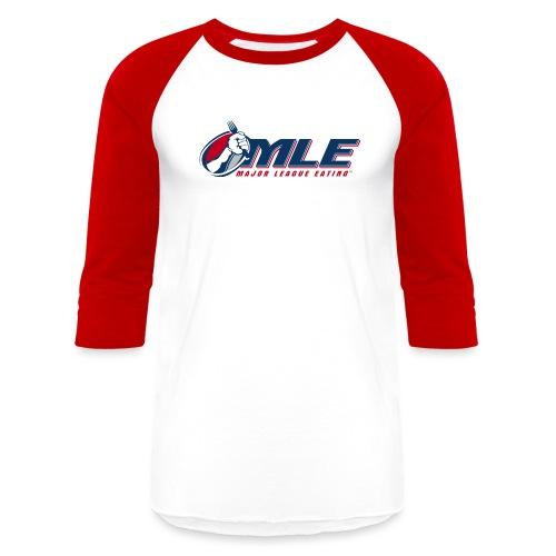 Major League Eating Logo - Unisex Baseball T-Shirt
