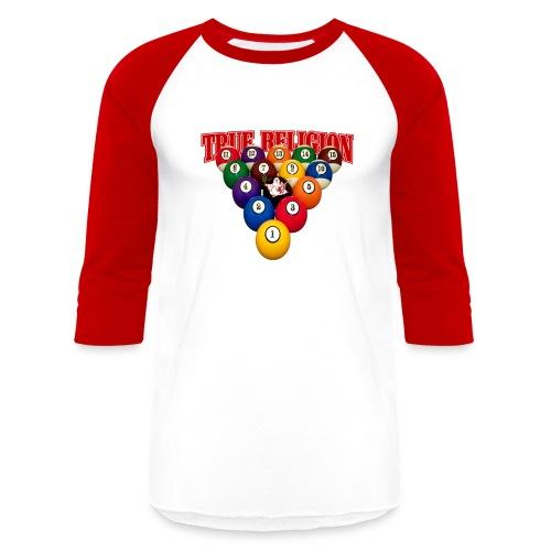 TRUE RELIGION BILLIARD INSPIRED - Baseball T-Shirt