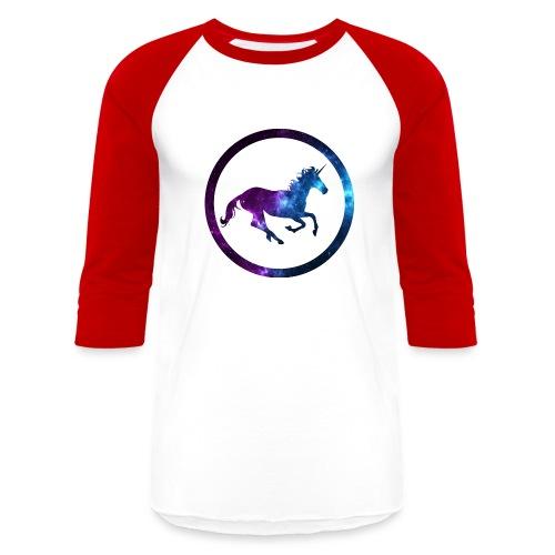 Believe Unicorn Universe 3 - Baseball T-Shirt