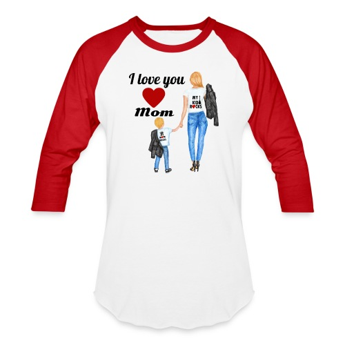 Mother's day gift from daughter, Mother's Day Gift - Unisex Baseball T-Shirt