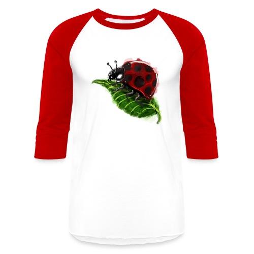 Lady Bug - Unisex Baseball T-Shirt