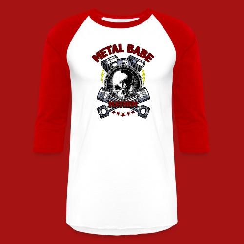Piston Power (Light Shirts) - Unisex Baseball T-Shirt