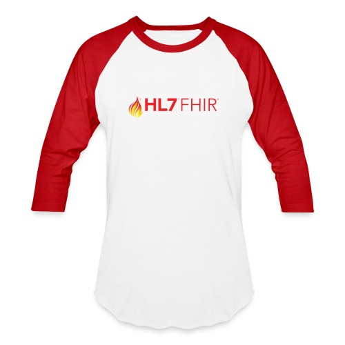 HL7 FHIR Logo - Unisex Baseball T-Shirt