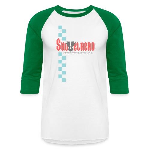 Shovelhead Race - Motorcycle Fast N`Loud - Unisex Baseball T-Shirt