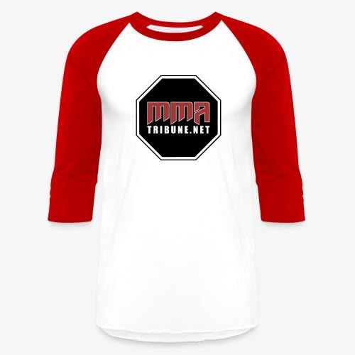 MMATribune.net Octagon logo - Baseball T-Shirt