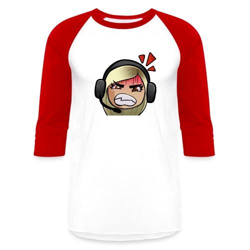 FAITHFIRE EMOTE - RAGE - Unisex Baseball T-Shirt