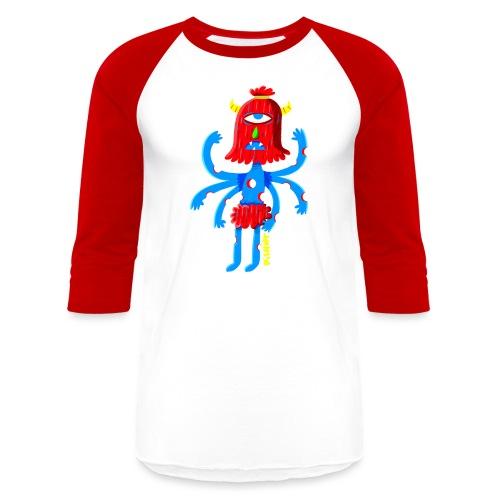 pishiermonstreetroit png - Unisex Baseball T-Shirt