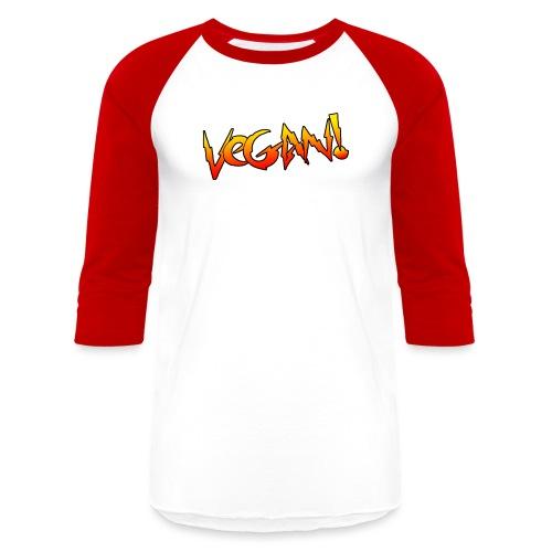 Rowdy Vegan - Baseball T-Shirt
