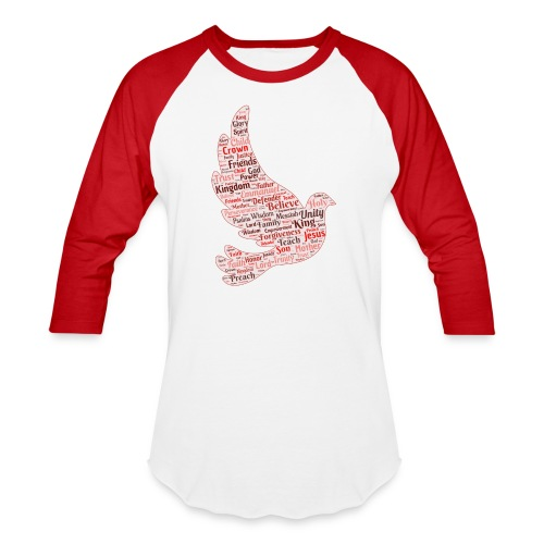 Red Dove Shirt - Baseball T-Shirt